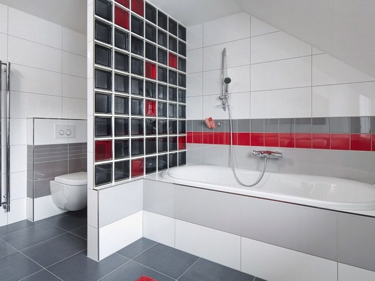 Перегородки ванную комнату и туалет