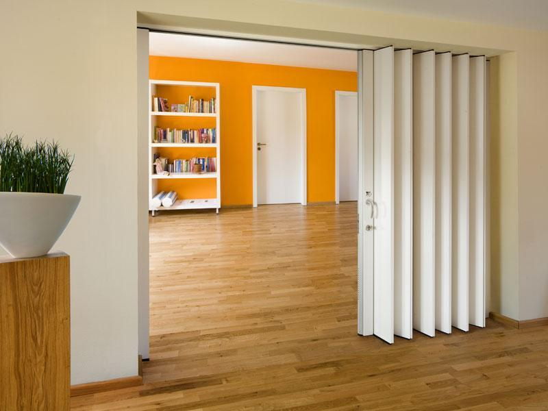 Раздвижные двери гармошка – примеры