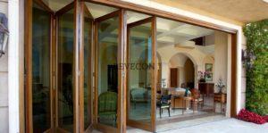 раздвижные алюминиевые двери для террасы и веранды