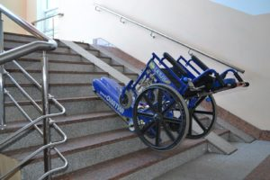 Лестничный гусеничный подъемник для инвалидов